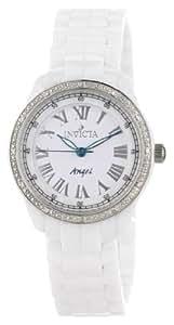 Invicta Women's 0726 Angel Collection Diamond Accented Ceramic Watch