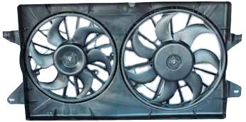 Tyc 620280 Ford Windstar Replacement Radiator/Condenser Cooling Fan Assembly