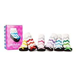 Trumpette Baby-Girls Newborn Mikylas Socks, Assorted, Infant