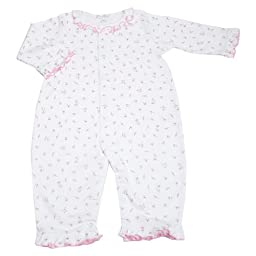 Kissy Kissy Printed Playsuit - Garden Roses -- red size: 6-9 months