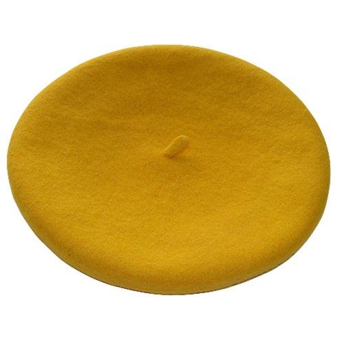 Damenmtze-Mtze-Baske-Baskenmtze-Wollmtze-Beret-Cap-Farbauswahl