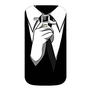 Impressive Tie Knot Back Case Cover for Galaxy S Duos