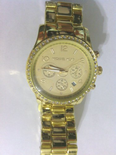 Michael Kors Watch Stainless Steel Gold Color Mk