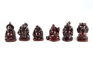 Mini Buddha Figurines Set of 5 #RB2