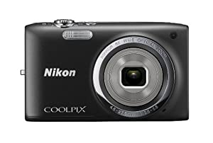 Nikon COOLPIX S2700 16 MP Digital Camera with 6x Optical Zoom and 720p HD Video (Black)
