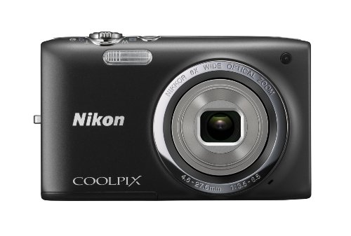 41E Pj1UU8L Nikon COOLPIX S2700 16 MP Digital Camera with 6x Optical Zoom and 720p HD Video (Black)