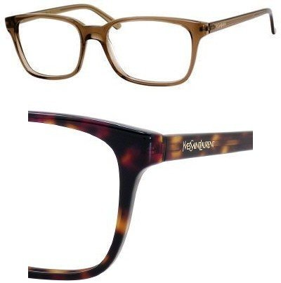 Yves Saint Laurent YVES SAINT LAURENT 2358 Eyeglasses 0TVD Havana Demo Lens 52-16-145