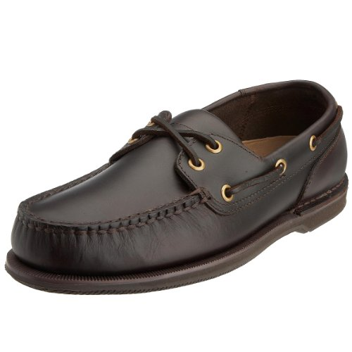Rockport Men's Perth Boat Shoe Dark Brown K54692 7.5 UK
