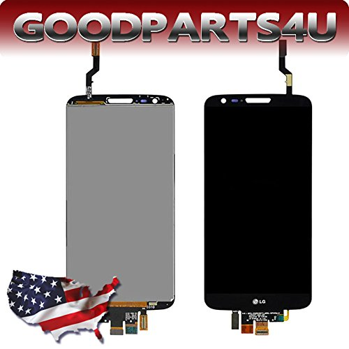 Black Lcd Screen+Touch Panel Digitizer Assembly For Lg Optimus G2 T-Mobile D801