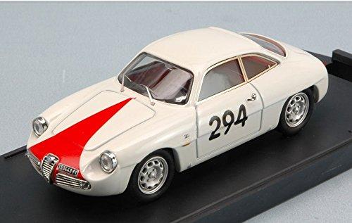 ALFA ROMEO GIULIETTA SZ N.294 FORNOVO-M.CASSIO 1962 C.D.INNOCENTI 1:43 Bang Auto Competizione modello modellino die cast