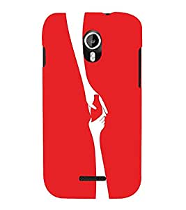 EPICCASE Helping Hand Mobile Back Case Cover For Micromax Canvas Magnus A117 (Designer Case)