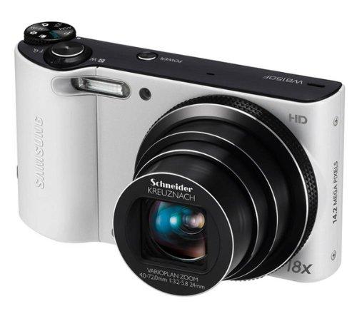 Samsung WB150F Compact Digital Camera - White (14.1MP, 18x Optical Zoom) 3.0 inch LCD WIFI Version