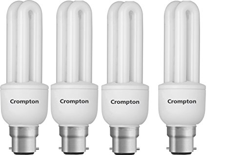 11 Watt 2U CFL Bulb (Cool Day Light,Pack of 4)