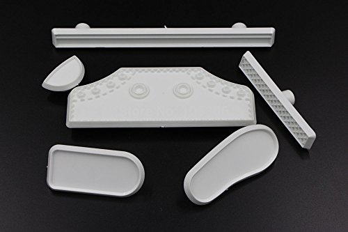 Diy 6pcs set plastic fondant life size baby high cut for Kitchen tool set of 6pcs sj