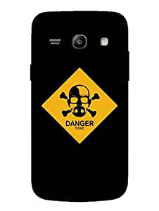 Breaking Bad - Typography - Hard Back Case Cover for Samsung Core Plus - Superior Matte Finish - HD Printed Cases and Covers