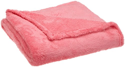Northpoint Everyone Ultra Plush Throw, Cotton Candy Pink front-871351