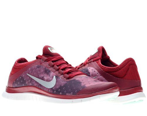 new style 01b0a efbea Nike Free 3 0 v5 EXT Womens Running Shoes 579828 601 Noble Red 8 5 M US