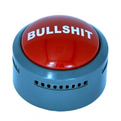 The Official Bullsh*t Button