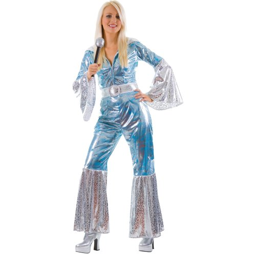 Waterloo Ladies 70s Disco Costume. Size 18 to 20