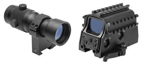 Tactical Red Dot Reflex Aiming Sight With Integral