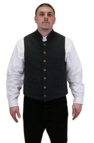 Historical-Emporium-Mens-Commander-Cotton-Work-Vest