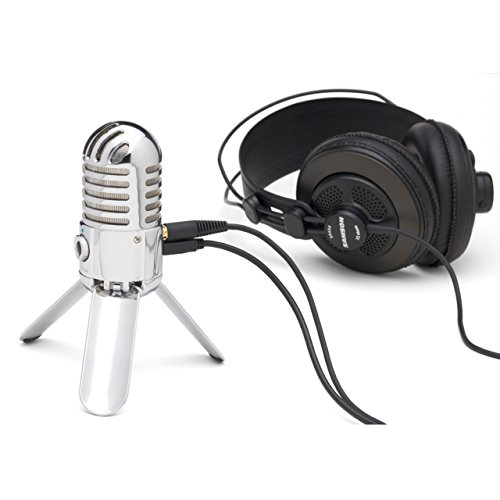 Samson Meteor Mic USB Studio Microphone (Chrome) - 4