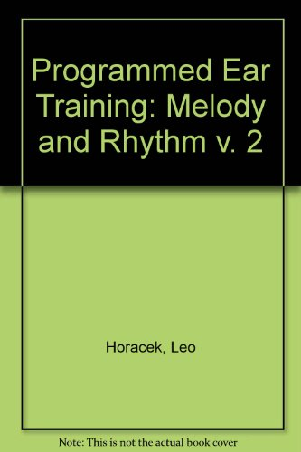 Programmed Ear Training (Melody & Rhythm)