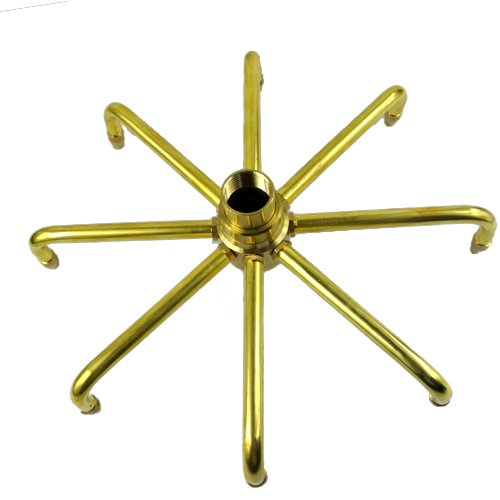 "NAVA Brass Windmill Rotating Fountain Nozzle Sprinkler Water Spray Head Pond (1 1/2"" DN40)"