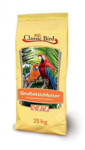 4er Pack Classic Bird Großsittichfutter 2,5kg