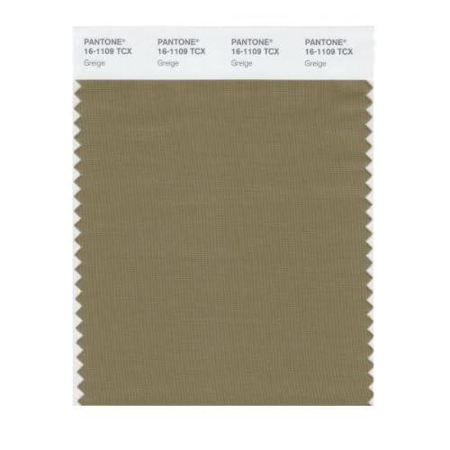 Amazon.com: Pantone 16-1109 TCX Smart Color Swatch Card, Greige