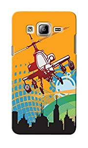 CimaCase Helicopter Designer 3D Printed Case Cover For Samsung Galaxy On7