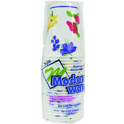 Modern ware Cold Paper Cup - Smart Savers(Pack of 24)