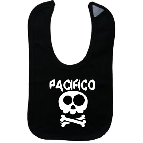 pacifico-vintage-skull-and-bones-name-series-black-bib