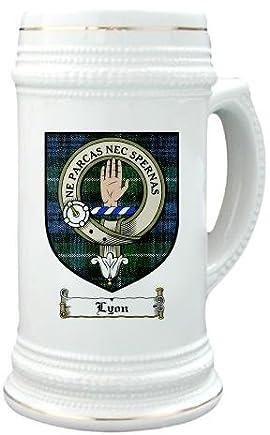 Lyon clan lamont Clan Crest / Clan Badge 22 oz. Stein Mug
