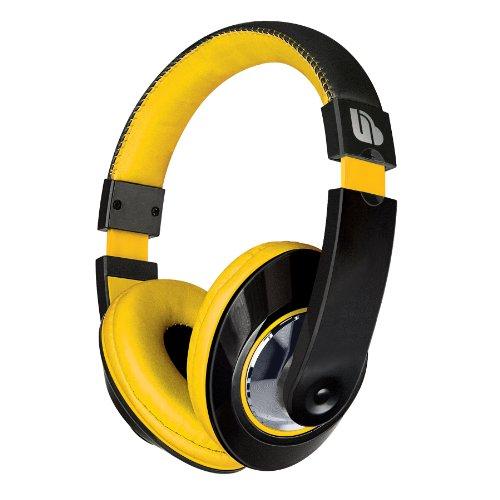 Urban Beatz Tempo Stereo Headphones - Black/Yellow (M-Hl815)
