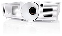 Optoma DH1012 Full 3D 1080p 3200 Lumen DLP Multimedia Projector with MHL Enabled HDMI Port, 18,000:1 Contrast Ratio and 8,000 Hour Lamp Life