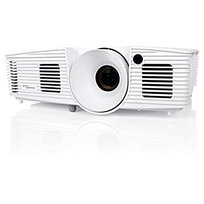 Optoma DH1012 Full 3D 1080p 3200 Lumen DLP Multimedia Projector with MHL Enabled HDMI Port, 18,000:1 Contrast...