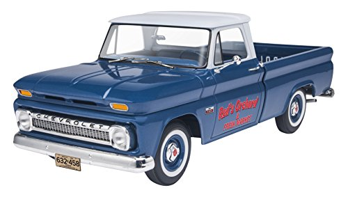 Revell '66 Chevy Fleetside Pickup Model Kit (Model Truck Kits compare prices)