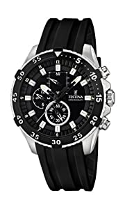 Festina F16604-2 Mens Chrono Black Watch
