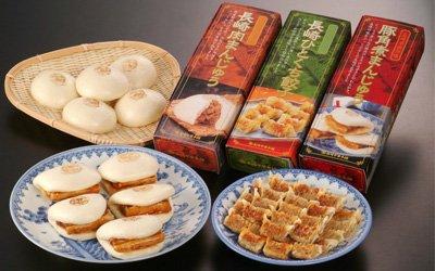 【長崎中華本舗】中華セット(角煮5ヶ+肉まん5ヶ+ひとくち餃子54ヶ入) -