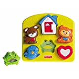 Top Fisher-Price Brilliant Basics Activity Puzzle - Cleva Edition ChildSAFE Door Stopz Bundle
