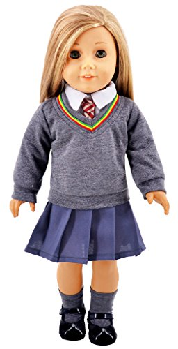 ebuddy hermione granger inspired doll clothes shoes for american