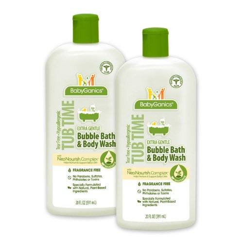 BabyGanics Tub Time Extra Gentle Bubble Bath