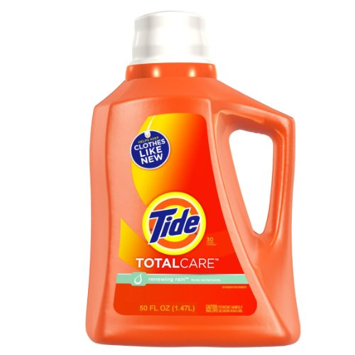 Tide Total Care Liquid Renewing Rain Scent, 50 ounce