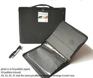 Royal & Langnickel RBIND-46 A3 Soft Nylon Presentation Ring Binder Case