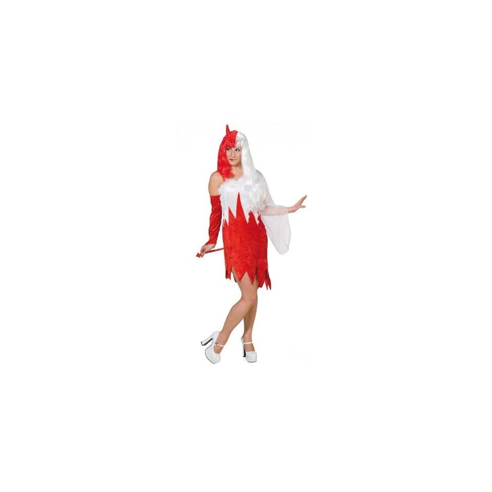 Kostum Halb Engel Halb Teufel Fasching Karneval M On Popscreen