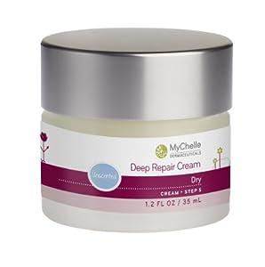 MyChelle Deep Repair Cream, Unscented, Dry Skin, 1.2-Ounce Jar from MyChelle Dermaceuticals