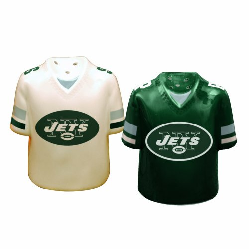 New York Jets Gameday Salt and Pepper Shaker at Amazon.com