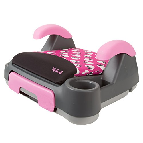 Disney Store and Go Backless Booster Car Seat, Minnie Silhouette Pink (Backless Booster Seat compare prices)