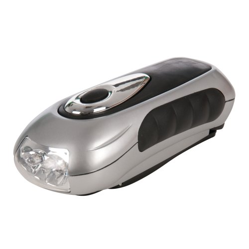 Silverline Wind-Up Torch 3 Led